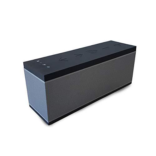 Altavoz portátil WiFi y Bluetooth BSL-Pro | Compatible con Manos Libres con micrófono Integrado| batería de Larga duración | Puerto USB para reproducción de música y Toma Auxiliar.