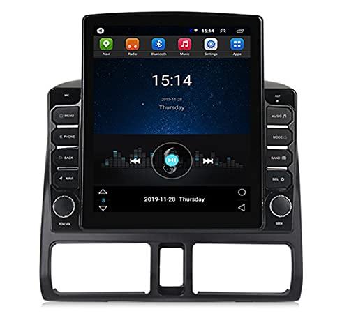 ADMLZQQ Adecuado para Honda Crv2002-2005 Android Radio EstéReo para AutomóVil NavegacióN GPS Host Reproductor Multimedia De Pantalla Vertical, con WiFi/FM / Mp5 / SWC