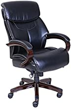 lazy boy bradley bonded leather executive chair