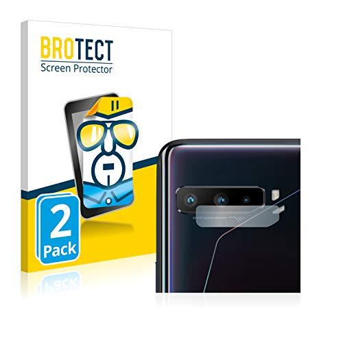 BROTECT Schutzfolie kompatibel mit Asus ROG Phone 3 Strix (NUR Kamera) (2 Stück) klare Bildschirmschutz-Folie