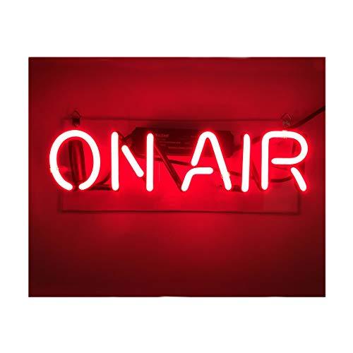 ON AIR Leuchtschild Neonlicht für Zuhause, Schlafzimmer, Pub, Hotel, Strand, Freizeit-Spielzimmer, Dekoration 30CM x 8.8CM