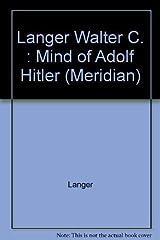 Mind Of Adolf Hitler: The Secret Wartime Report Capa comum