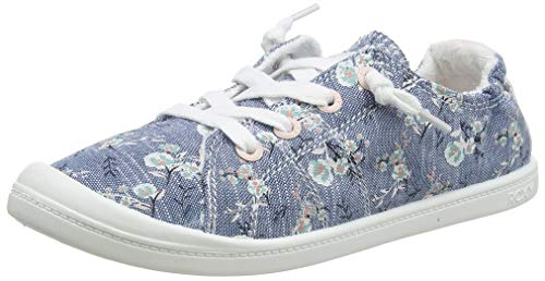 Roxy Mädchen RG BAYSHORE Sneaker, Blau (Chambray Chy), 29 EU