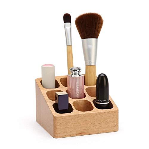 Chunjiao Desktop Lippenstift Organizer, Massivholz-Dressing Tables kosmetisches...