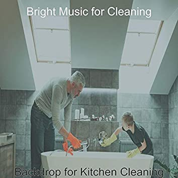 Backdrop for Kitchen Cleaning