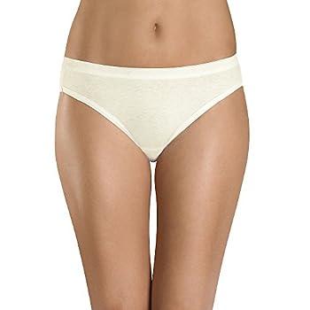 Hanes Women s Ultra Soft Cotton Bikini Panties Multi-Packs Available 6 Pack-Assorted 9