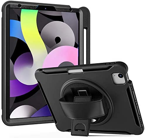 ProCase iPad Air 4 10 9 Inch 2020 iPad Pro 11 2020 2018 Case Rugged Heavy Duty Shockproof Rotating product image