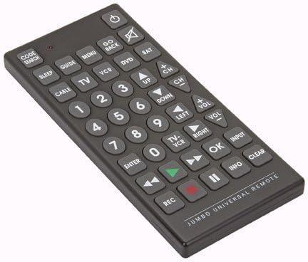 RoyalCraft TM 8 Function Jumbo Universal Remote Control.