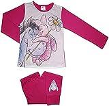 Official Character Long Sleeve Pyjama Sets Nightwear Pjs Kids Girls Toddler Baby 6 Months to 12 Years (Winnie The Pooh Eeyore Piglett), 9-10 Years)