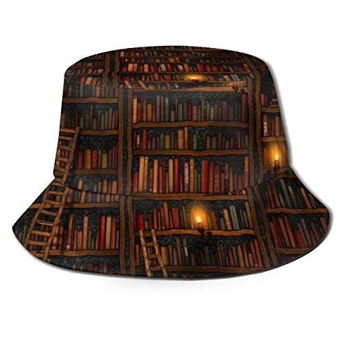Increíble estantería Sombreros de Cubo Verano Otoño Pesca al Aire Libre y Gorra para el Sol