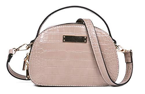 Feversole Women's Handbag Nuevo Bolsos de Mujer, Bolsos Mujer Hombro Elegante, PU Cuero Bolsos de Mano para Trabajo, Diario Vida, Fiesta, El Regalo Perfecto para Damas