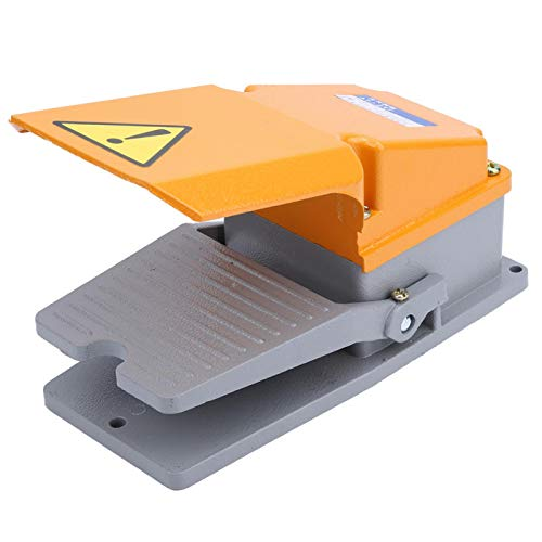 Interruptor de pedal Controlador de máquina herramienta Interruptor de control de pie LT4 Carcasa de aluminio para máquina herramienta para equipo