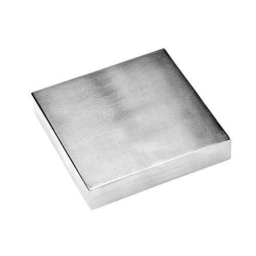 Hoge hardheid vierkant ijzer aambeeld werkbanken metaalbewerking afdichting sieraden maken doe-het-zelfgereedschap