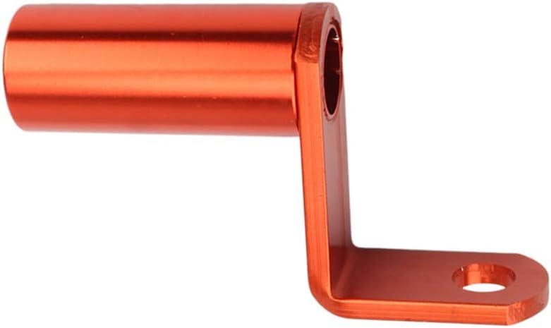 Gazechimp Support de Fixation Pince Adaptateur Barre de Support de T/él/éphone Support dExtension pour Rack Orange Accessoires Moto