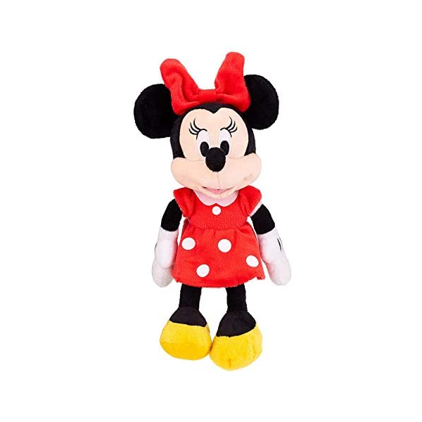 "Disney Minnie Mouse Red 11"" Beans Plush w hangtag 1"