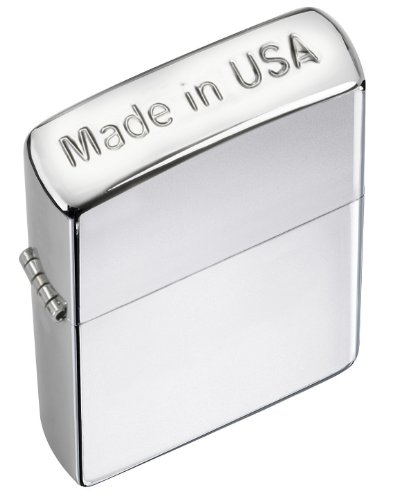 Zippo Made in USA HGH Polish Crown Stamp-Plain