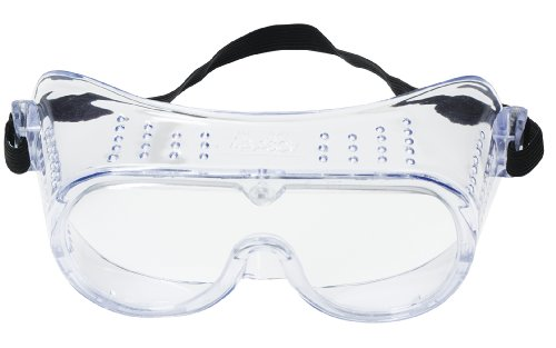 3M 332 Impact Safety Goggles 40650-00000-10, Clear Lens