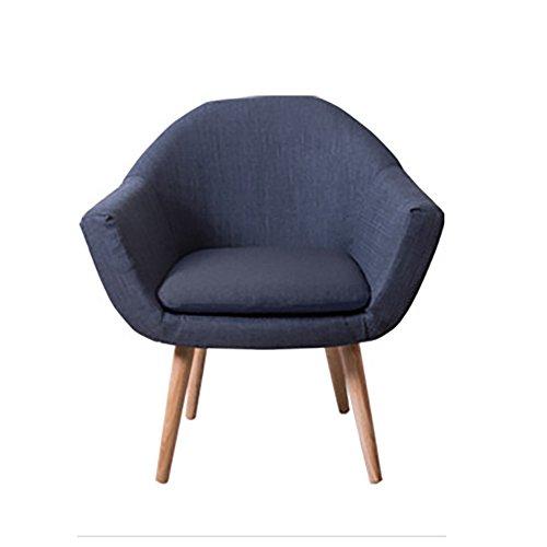 G-Y Sofa Paresseux, Nordique Petite Taille Simple Moderne Salon Canapé Unique, Chambre Balcon Petit Canapé (lin) (Couleur : Gris foncé)