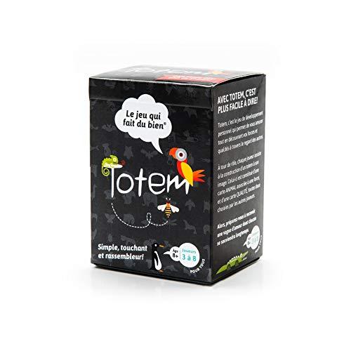 Totem - Le Jeu Qui Fait du Bien - Jeu d'Estime de Soi pour le Team Building, Famille/Amis et le Coaching