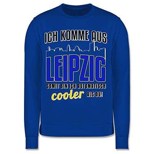 Städte & Länder Kind - Ich komme aus Leipzig - 152 (12/13 Jahre) - Royalblau - Leipzig Pullover - JH030K - Kinder Pullover