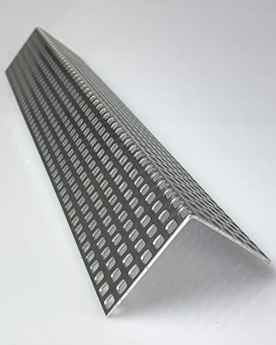 Lochblech Alu Winkel QG 5-8 Winkelprofil 1,5mm Länge 1000mm, Individuell nach Maß (Schenkel: 30mm x 30mm)