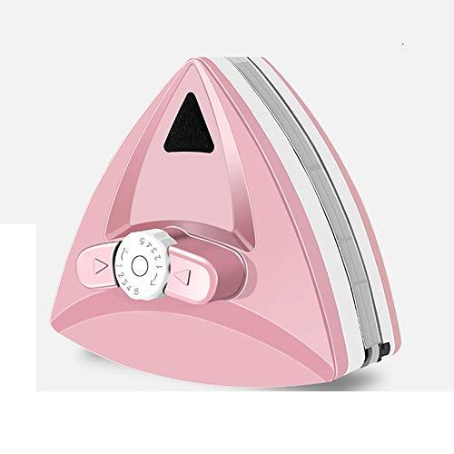 Afinación De 5 Velocidades Limpiador De Ventanas Magnético, Robot Limpiacristales Ventanas For Doble Acristalamiento 3 Tamaños For Ventanas De 3-35 Mm De Grosor (Color : Pink, Size : 5-25mm)