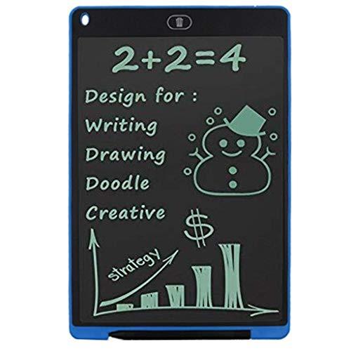 samLIKE LCD Schreibtafeln Digital Elektronische Schreibtafel für Schreiben und Zeichnen Umweltfreundlich Papierlos Grafiktabletts Kinder usw (Blau)