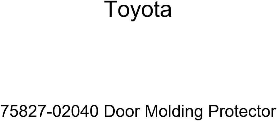 TOYOTA Dedication Fees free!! Genuine 75827-02040 Protector Molding Door