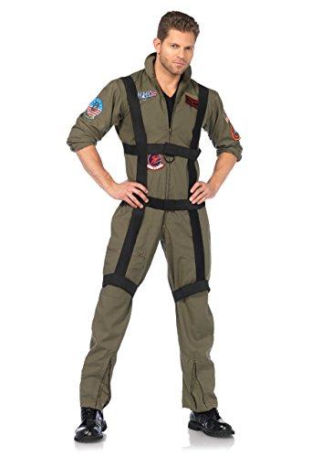 Leg Avenue Men's Top Gun Paratrooper Costume, Olive Green, Small/Medium - http://coolthings.us