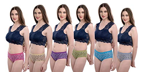 Love Maker Printed Soft Cotton Woman Panty Set of 6 Women Panty, Daily Use Breathable Hipster Panties for Girls