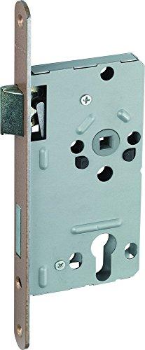 ABUS Tür-Einsteckschloss Profilzylinder TKZ20 HG R hammerschlag-gold für DIN-rechts Türen 23757
