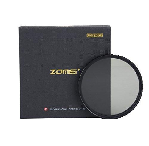 ZOMEI Filtre ND variable ABS fin densité neutre ND2-400 filtre No X Cross sur l'image