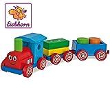 Heros Simba 100022307 - Quattroruote Trenino Cm 42 con 2 Vagoni E Cubetti