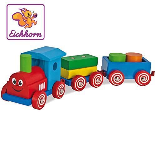 Heros - 100022307 - Jouet - Train en bois
