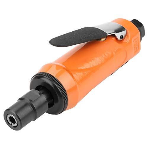 Angle Die Grinder, Lightweight Fast Pneumatic Die Grinder, 1/4' Inlet Port Hair Bristles for Metal Wood Rubber(KP-620H small)