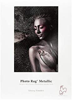 Hahnemühle Photo Rag Metallic 340gsm 17 x 22 in, 25 Sheets