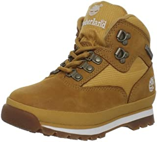 Junior Euro Leather Hiking Boots Wheat 4 M