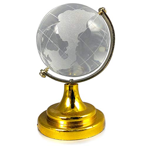 Reiki Crystal Products Crystal Globe for Success Good Luck and Prosperity 60 mm