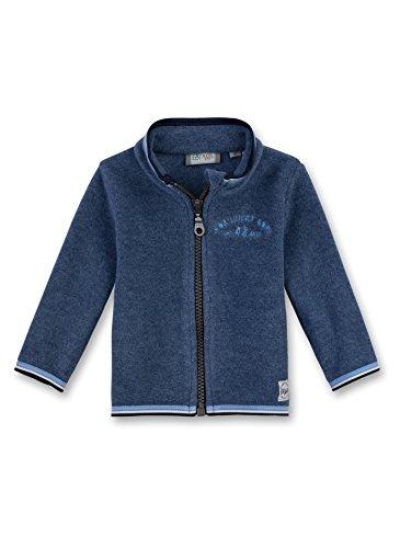 Sanetta Baby-Jungen 114072 Jacke, Blau (Deep Blue 5993), 80