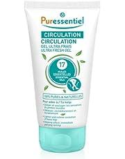 Puressentiel - Circulation - Gel Ultra-Frais - Aux 17 huiles essentielles - 100% pures et naturelles - Aide à soulager les sensation de jambes lourdes - 125 ml