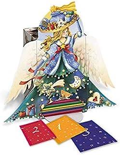 Goldmännchen Adventskalender Engel | Teeselektion mit 24  1 verschiedenen Teesorten, 1er Pack 1 x 50 g
