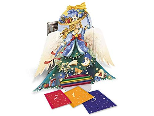 Goldmännchen Adventskalender Engel | Teeselektion mit 24 + 1 verschiedenen Teesorten, 1er Pack (1 x 50 g)