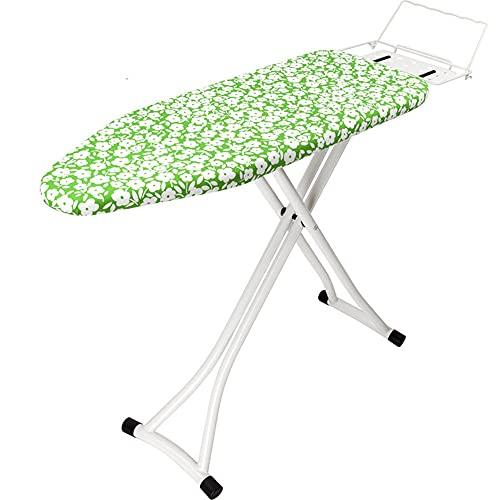 BGROESTWB Tabla de Planchar Tableros de Planchar Conjunto Ligero Plegable Plato de Planchado Grande Casa (Color : Green, Size : One Size)