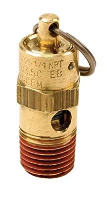 """Viair 92175 175 PSI Safety Valve with 1/4"""" NPT by Viair"""