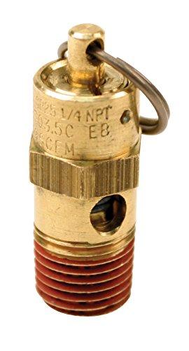 Viair 92175 175 PSI Safety Valve with 1/4' NPT