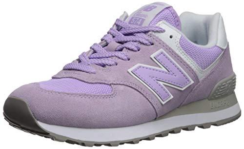 New Balance Damen 574v2 Sneaker, Pink (Violet Glo/White ESD), 39 EU