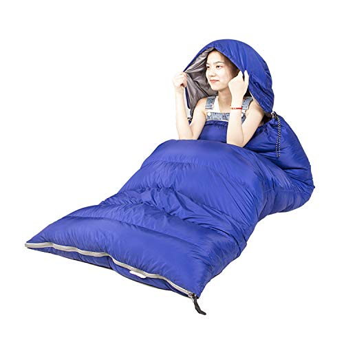 DYMMS Sleeping Bag, Camping Sleeping Bag Single, Waterproof 3 Season Sleeping Bags Lightweight, 20D High Density Nylon Fabric, Suitable for Hiking, Hiking, And Other Outdoor Activities