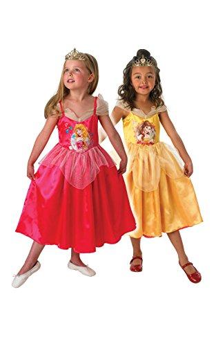 Rubie's-déguisement officiel - Disney- Costume Réversible New Design Belle / Aurore - Taille M- I-881862M