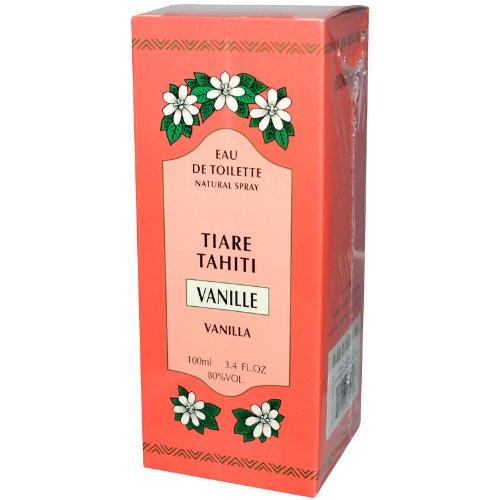 Monoi Tiare Tahiti Eau de Toilette Natural Spray Vanilla -- 3.4 fl oz by Monoi Tiare Tahiti