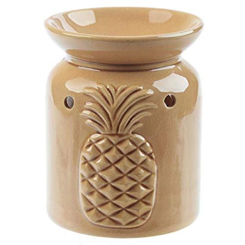 Eden Brûleur à Huile en céramique pour Ananas, Mixte, Hauteur 11 cm, Largeur 9 cm.